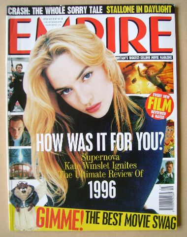 <!--1997-01-->Empire magazine - Kate Winslet cover (January 1997 - Issue 91