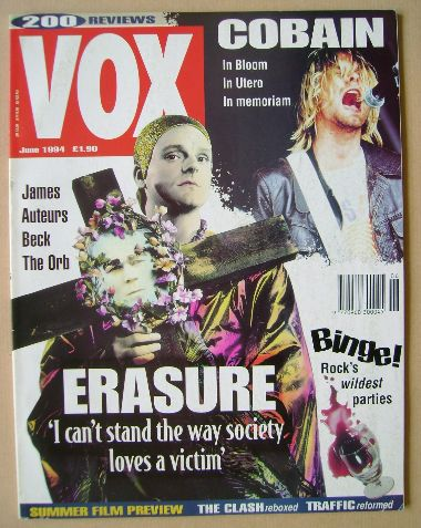 <!--1994-06-->VOX magazine - June 1994 (Issue 45)