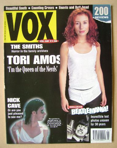 <!--1994-05-->VOX magazine - Tori Amos cover (May 1994 - Issue 44)