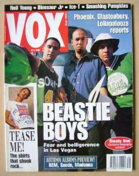VOX magazine - Beastie Boys cover (September 1994 - Issue 48)