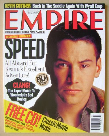 <!--1994-10-->Empire magazine - Keanu Reeves cover (October 1994 - Issue 64