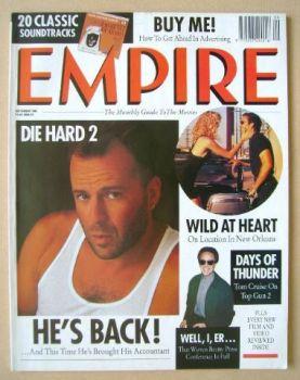 <!--1990-09-->Empire magazine - Bruce Willis cover (September 1990 - Issue 15)