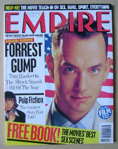<!--1994-11-->Empire magazine - Tom Hanks cover (November 1994 - Issue 65)