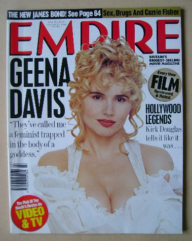<!--1994-07-->Empire magazine - Geena Davis cover (July 1994 - Issue 61)