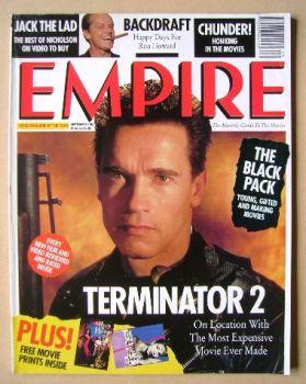 <!--1991-09-->Empire magazine - Arnold Schwarzenegger cover (September 1991 - Issue 27)