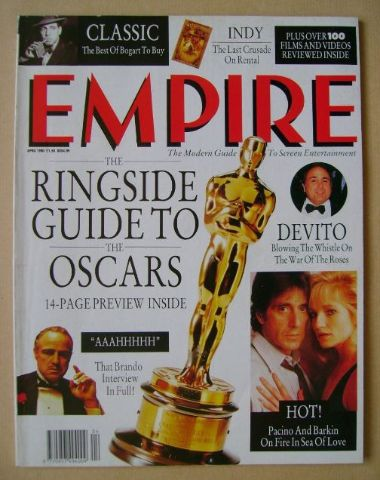 <!--1990-04-->Empire magazine - April 1990 (Issue 10)