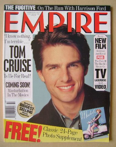 <!--1993-10-->Empire magazine - Tom Cruise cover (October 1993 - Issue 52)