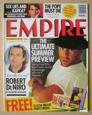 <!--1991-07-->Empire magazine - Bruce Willis cover (July 1991 - Issue 25)
