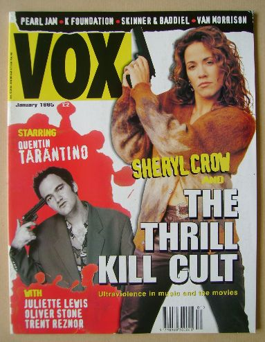<!--1995-01-->VOX magazine - Sheryl Crow cover (January 1995 - Issue 52)