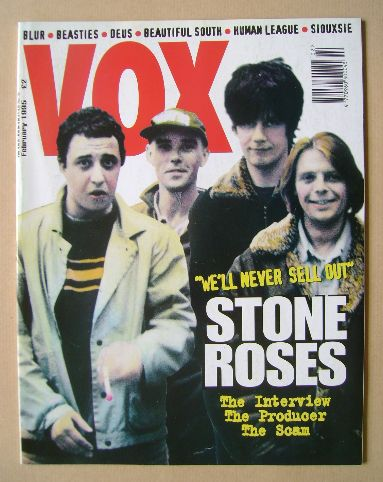 <!--1995-02-->VOX magazine - Stone Roses cover (February 1995 - Issue 53)
