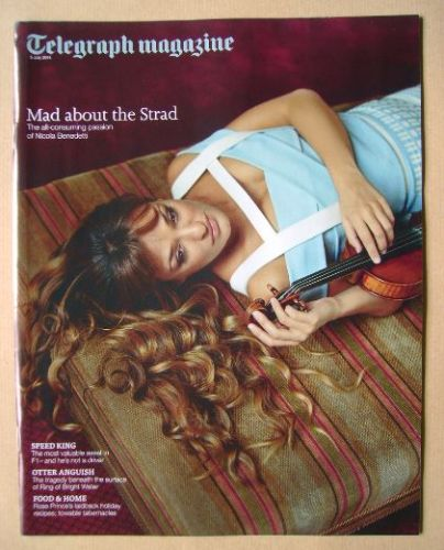 <!--2014-07-05-->Telegraph magazine - Nicola Benedetti cover (5 July 2014)