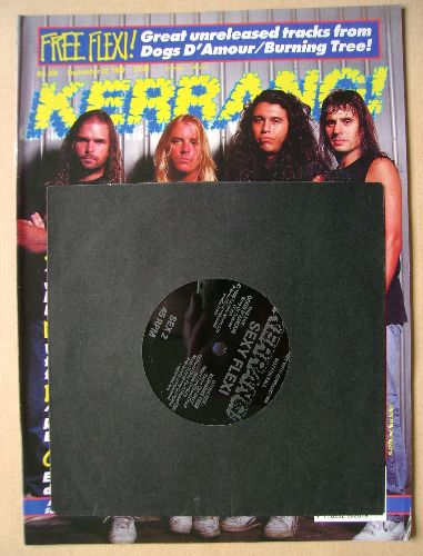 <!--1990-09-22-->Kerrang magazine - Slayer cover (22 September 1990 - Issue