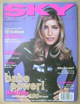 Sky magazine - Dani Behr cover (December 1994)