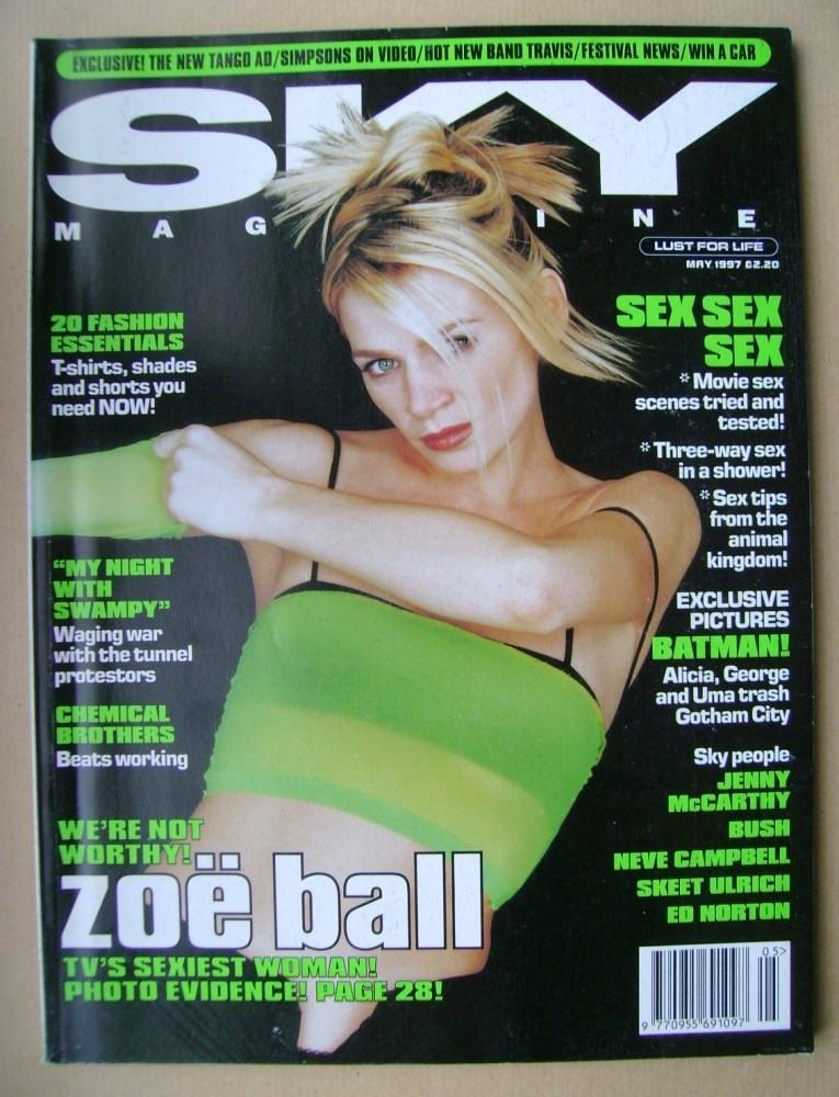 <!--1997-05-->Sky magazine - Zoe Ball cover (May 1997)
