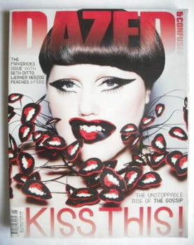 Dazed & Confused magazine (May 2009 - Beth Ditto cover)