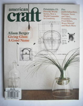American Craft magazine (February/March 2009)