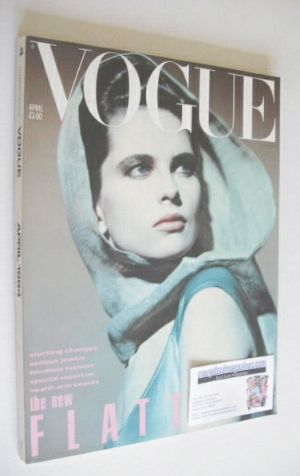 <!--1984-04-->British Vogue magazine - April 1984 (Vintage Issue)