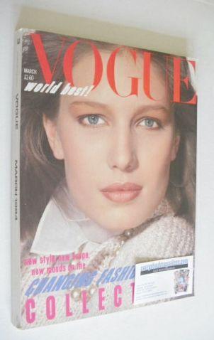 <!--1984-03-->British Vogue magazine - March 1984 (Vintage Issue)