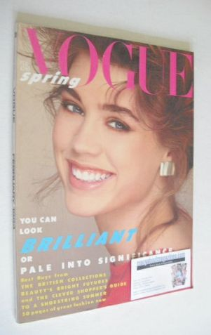 <!--1984-02-->British Vogue magazine - February 1984 (Vintage Issue)