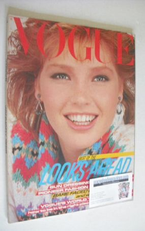 <!--1982-01-->British Vogue magazine - January 1982 (Vintage Issue)