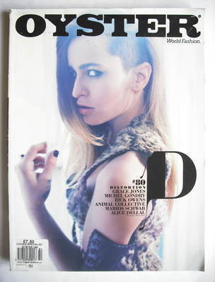 Oyster magazine - Alice Dellal cover (Issue 80)
