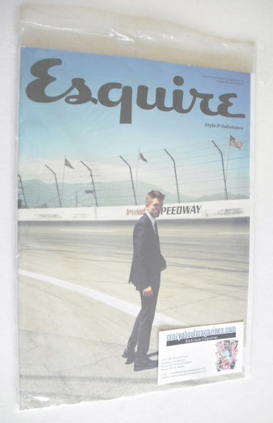 <!--2014-08-->Esquire magazine - Robert Pattinson cover (August 2014 - Subs