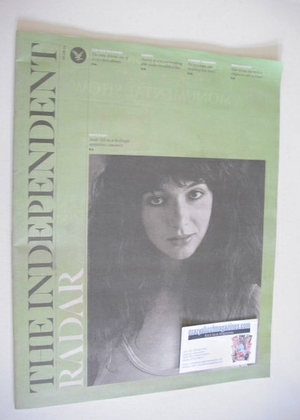 The Independent Radar magazine - Kate Bush cover (9 August 2014)