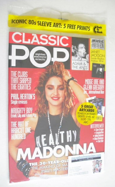 <!--2014-08-->Classic Pop magazine - Madonna cover (August/September 2014)