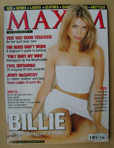 <!--2000-06-->MAXIM magazine - Billie Piper cover (June 2000)