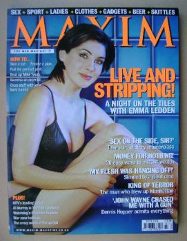 MAXIM magazine - Emma Ledden cover (April 2000)