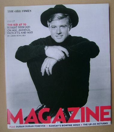 <!--2007-11-03-->The Times magazine - Robert Redford cover (3 November 2007
