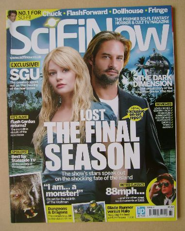 SciFiNow Magazine - Emilie de Ravin and Josh Holloway cover (Issue No 37)