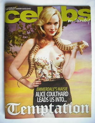 <!--2010-01-31-->Celebs magazine - Alice Coulthard cover (31 January 2010)