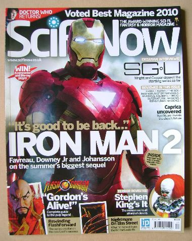SciFiNow Magazine - Iron Man 2 cover (Issue No 40)