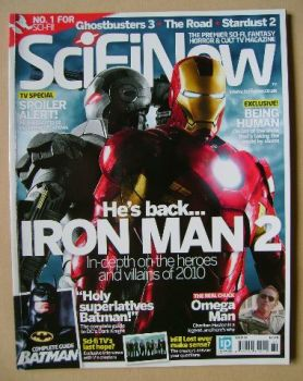 SciFiNow Magazine - Iron Man 2 cover (Issue No 36)