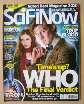 SciFiNow Magazine - Matt Smith and Karen Gillan cover (Issue No 42)