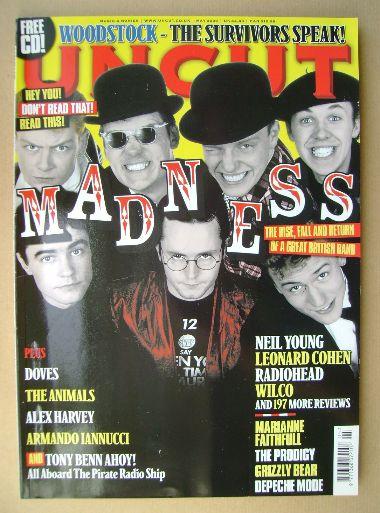 <!--2009-05-->Uncut magazine - Madness cover (May 2009)
