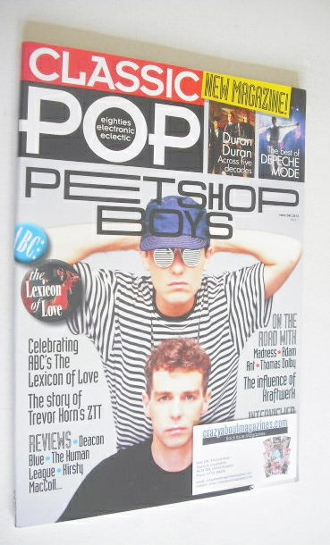 <!--2012-11-->Classic Pop magazine - Pet Shop Boys cover (November/December
