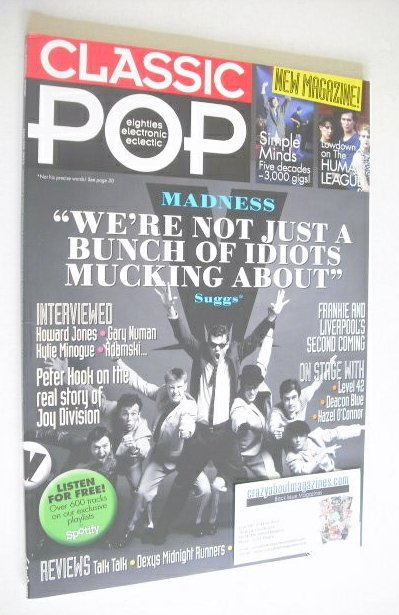 <!--2013-01-->Classic Pop magazine - Madness cover (January/February 2013)