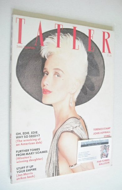 <!--1982-09-->Tatler magazine - September 1982 - Paula Yates cover