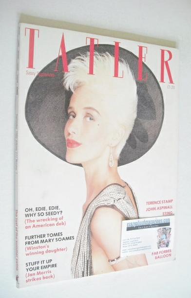 <!--1982-09-->Tatler magazine - September 1982 - Paula Yates cover