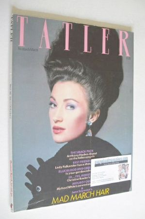 <!--1983-03-->Tatler magazine - March 1983 - Jane Seymour cover
