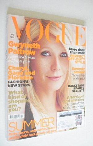 <!--2010-05-->British Vogue magazine - May 2010 - Gwyneth Paltrow cover