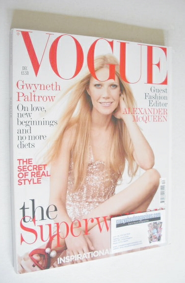 <!--2005-12-->British Vogue magazine - December 2005 - Gwyneth Paltrow cove