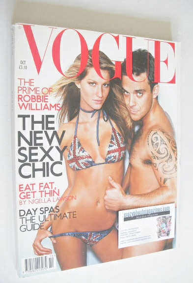 <!--2000-10-->British Vogue magazine - October 2000 - Robbie Williams and G