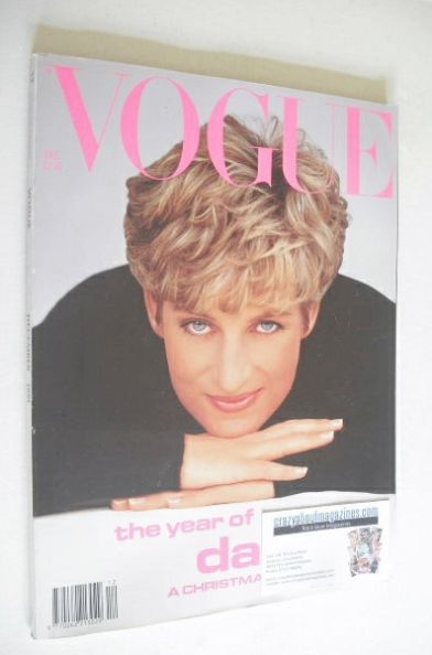 <!--1991-12-->British Vogue magazine - December 1991 - Princess Diana cover