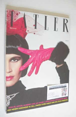 <!--1983-09-->Tatler magazine - September 1983