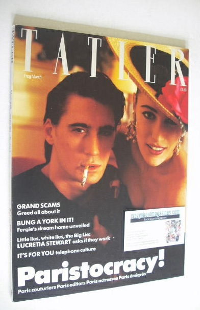 <!--1988-03-->Tatler magazine - March 1988