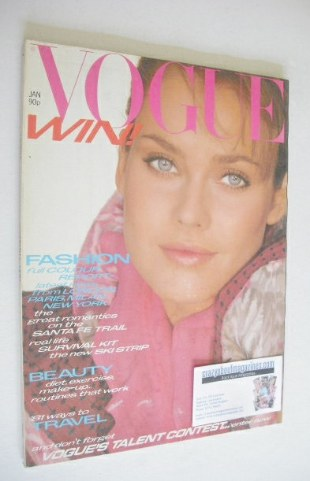 <!--1981-01-->British Vogue magazine - January 1981 (Vintage Issue)