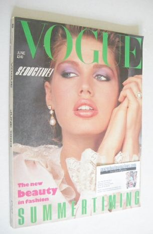 <!--1983-06-->British Vogue magazine - June 1983 (Vintage Issue)